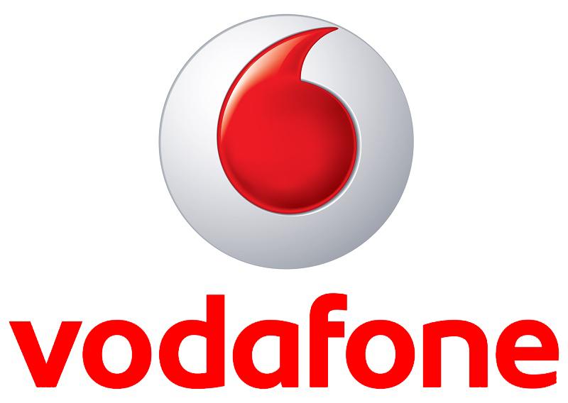 Logo Vodafone (mobiele telefonie)